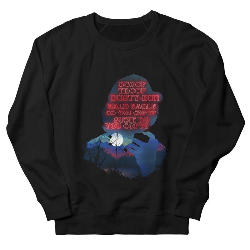 Scoops Trrop Dusty-bun Men's French Terry Sweatshirt by dandingeroz's Artist Shop