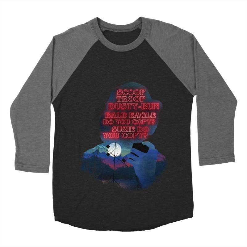 Scoops Trrop Dusty-bun Women's Baseball Triblend Longsleeve T-Shirt by dandingeroz's Artist Shop