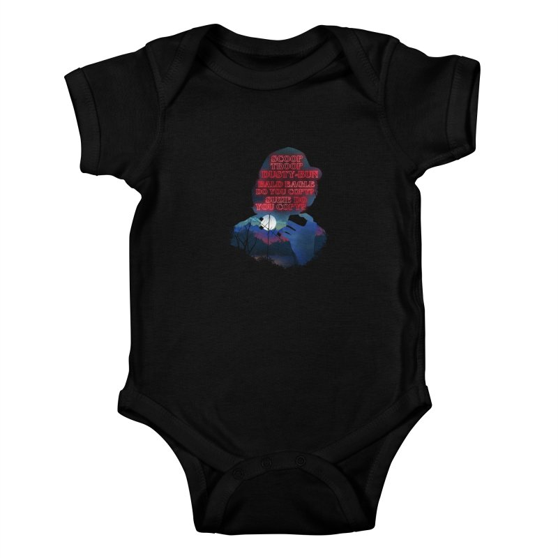 Scoops Trrop Dusty-bun Kids Baby Bodysuit by dandingeroz's Artist Shop