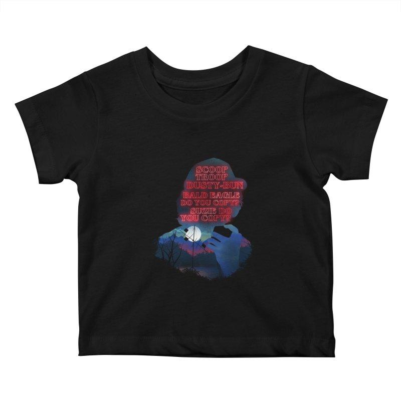 Scoops Trrop Dusty-bun Kids Baby T-Shirt by dandingeroz's Artist Shop
