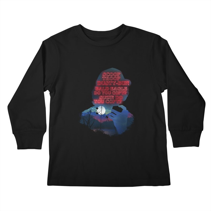 Scoops Trrop Dusty-bun Kids Longsleeve T-Shirt by dandingeroz's Artist Shop