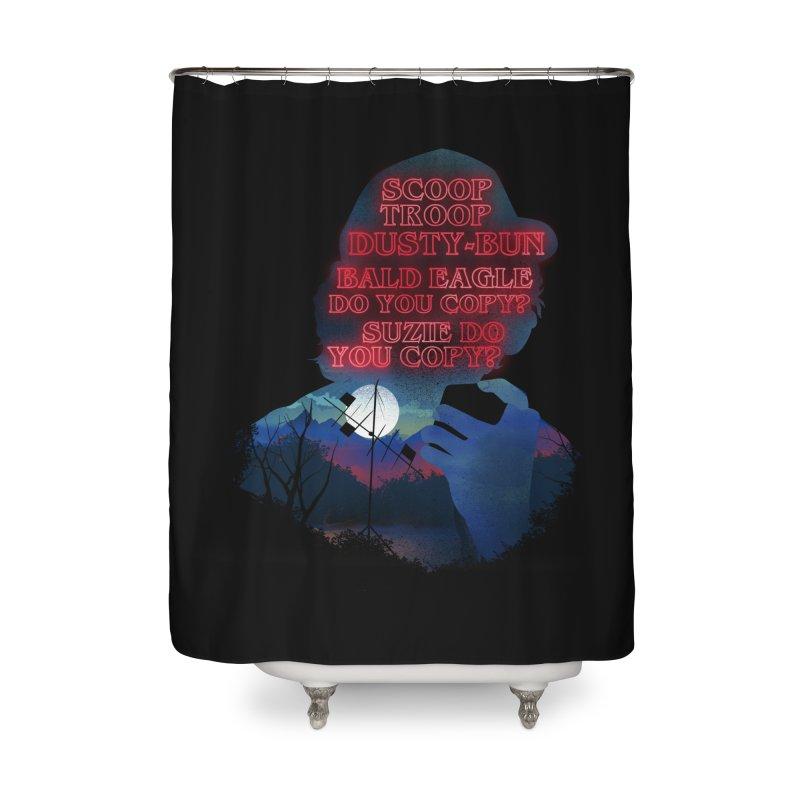 Scoops Trrop Dusty-bun Home Shower Curtain by dandingeroz's Artist Shop