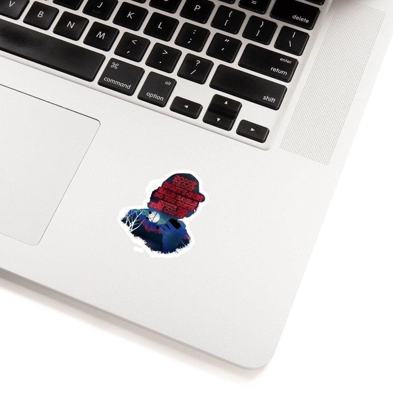 Scoops Trrop Dusty-bun Accessories Sticker by dandingeroz's Artist Shop
