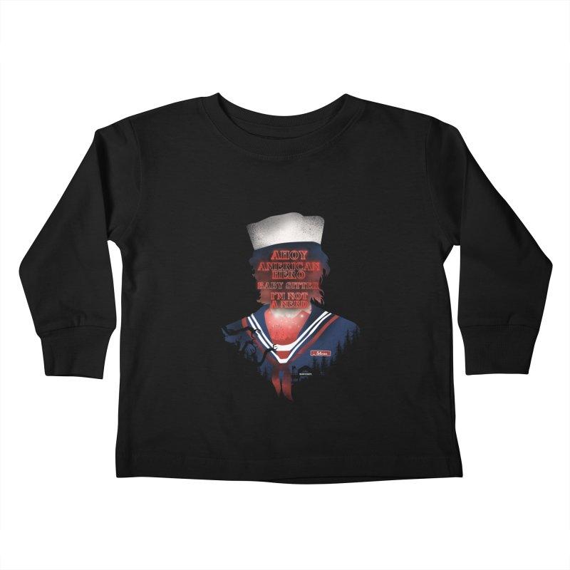 Scoops Troop Steve Kids Toddler Longsleeve T-Shirt by dandingeroz's Artist Shop
