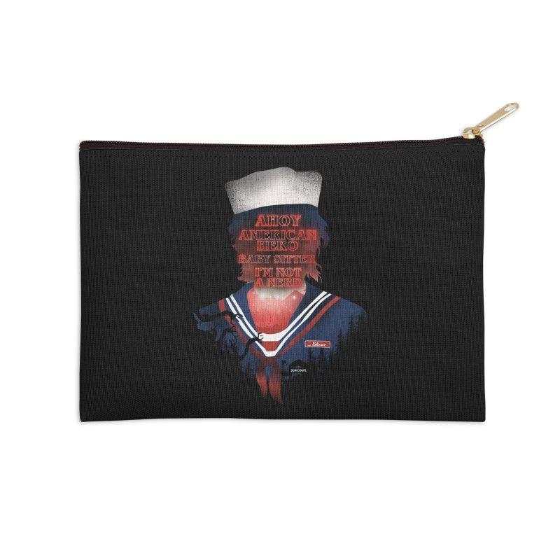 Scoops Troop Steve Accessories Zip Pouch by dandingeroz's Artist Shop
