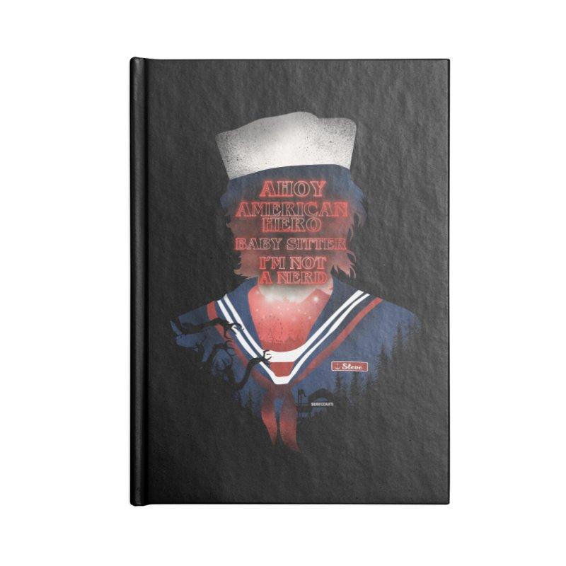 Scoops Troop Steve Accessories Lined Journal Notebook by dandingeroz's Artist Shop