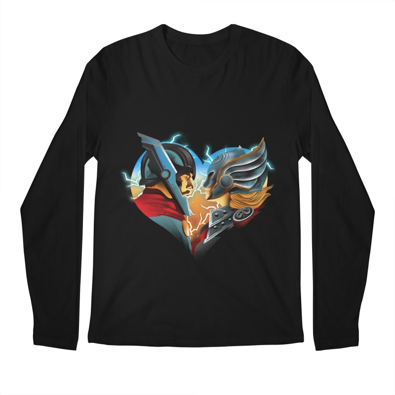 Love & Thunder Men's Regular Longsleeve T-Shirt by dandingeroz's Artist Shop