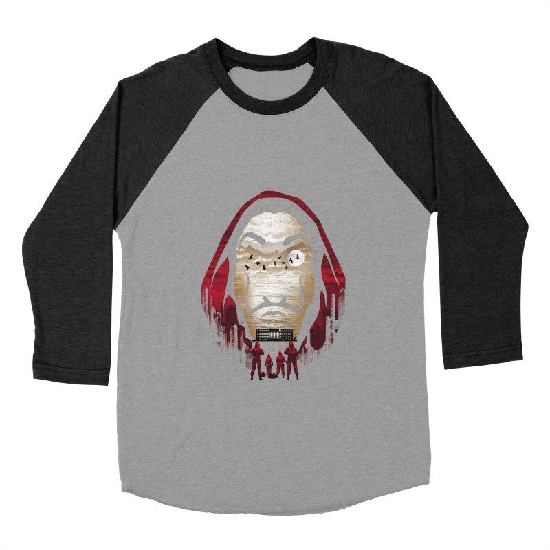 Bella Ciao Men's Baseball Triblend Longsleeve T-Shirt by dandingeroz's Artist Shop