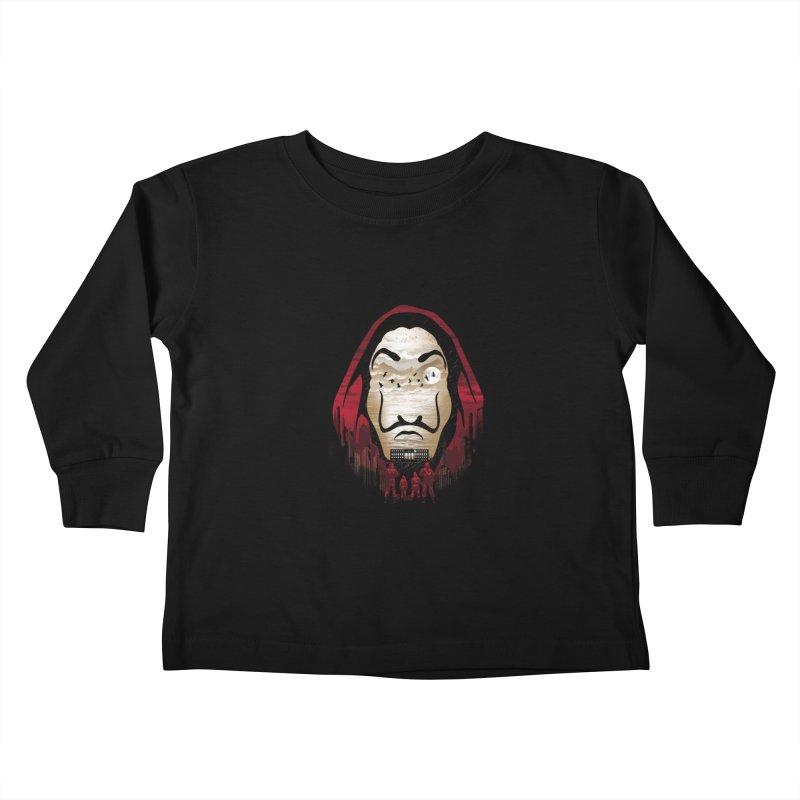 Bella Ciao Kids Toddler Longsleeve T-Shirt by dandingeroz's Artist Shop