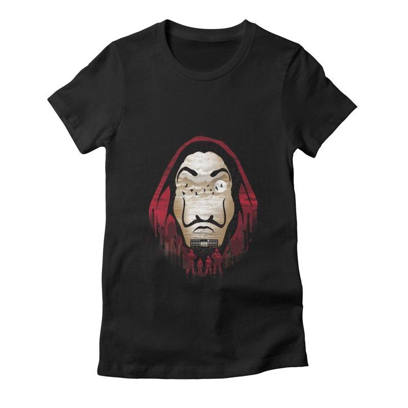 Bella Ciao Women's Fitted T-Shirt by dandingeroz's Artist Shop