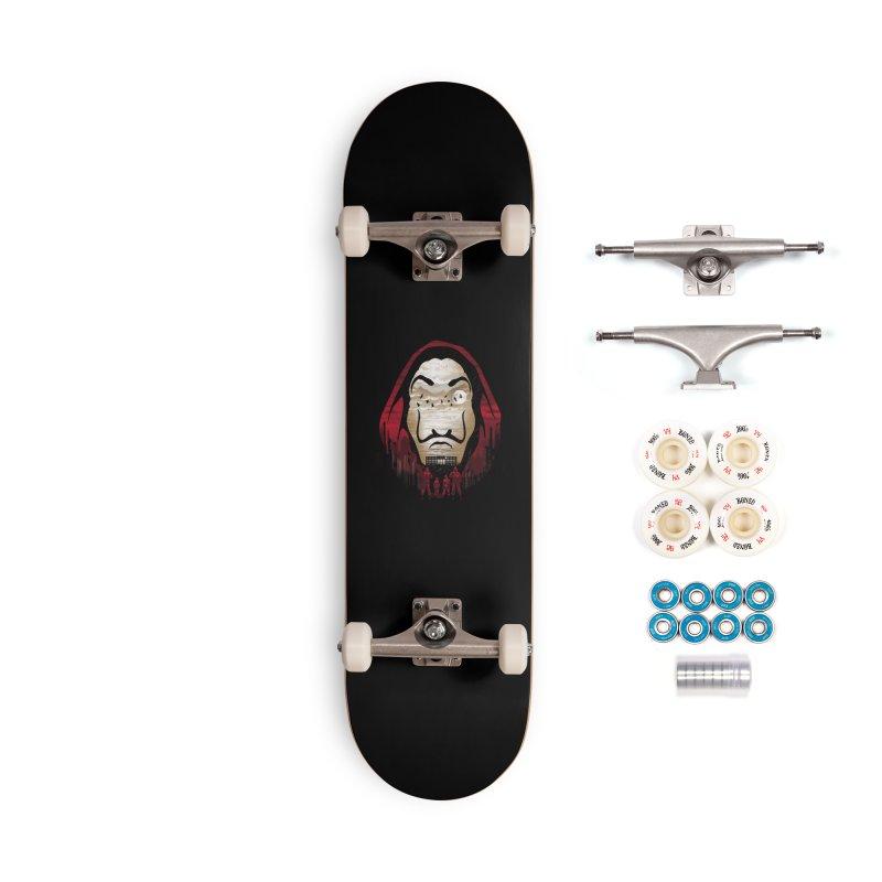 Bella Ciao Accessories Complete - Premium Skateboard by dandingeroz's Artist Shop