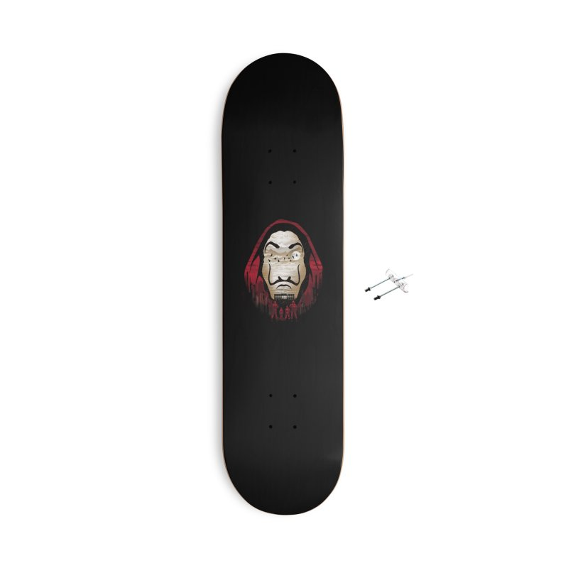 Bella Ciao Accessories With Hanging Hardware Skateboard by dandingeroz's Artist Shop