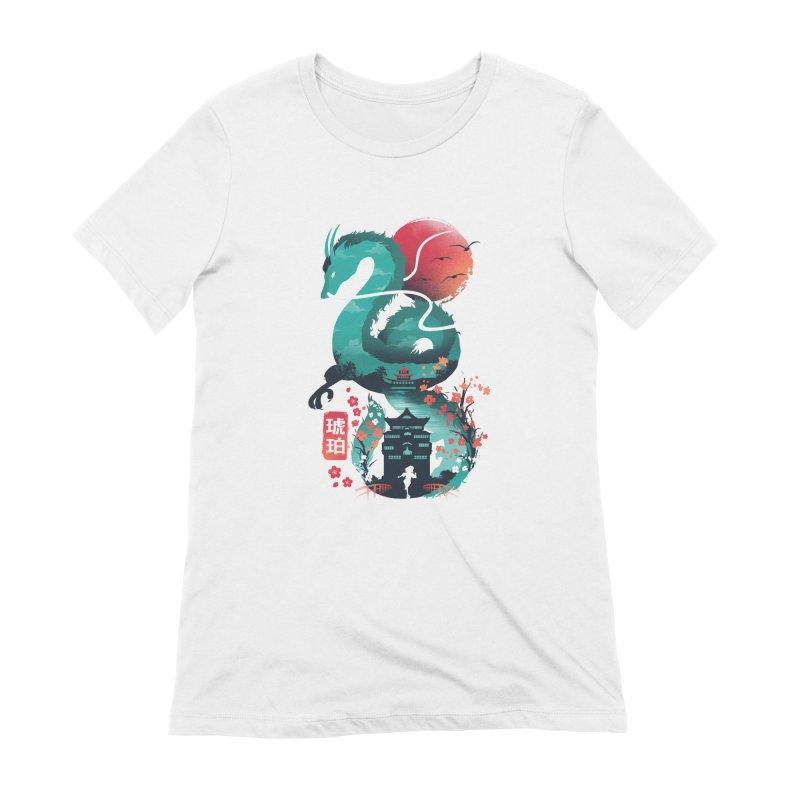 Haku Ukiyoe Women's Extra Soft T-Shirt by dandingeroz's Artist Shop