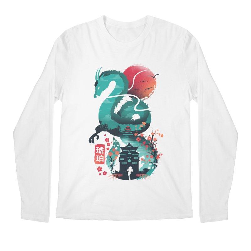 Haku Ukiyoe Men's Regular Longsleeve T-Shirt by dandingeroz's Artist Shop