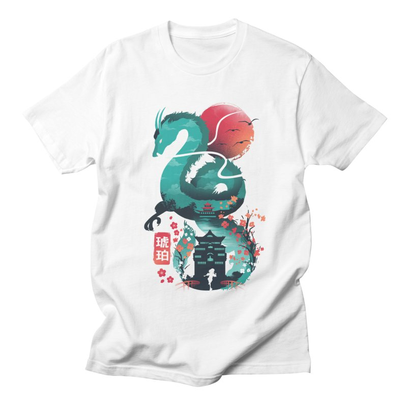 Haku Ukiyoe Men's Regular T-Shirt by dandingeroz's Artist Shop