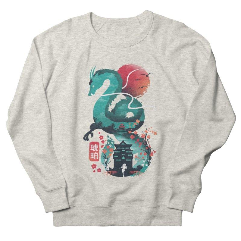 Haku Ukiyoe Women's French Terry Sweatshirt by dandingeroz's Artist Shop