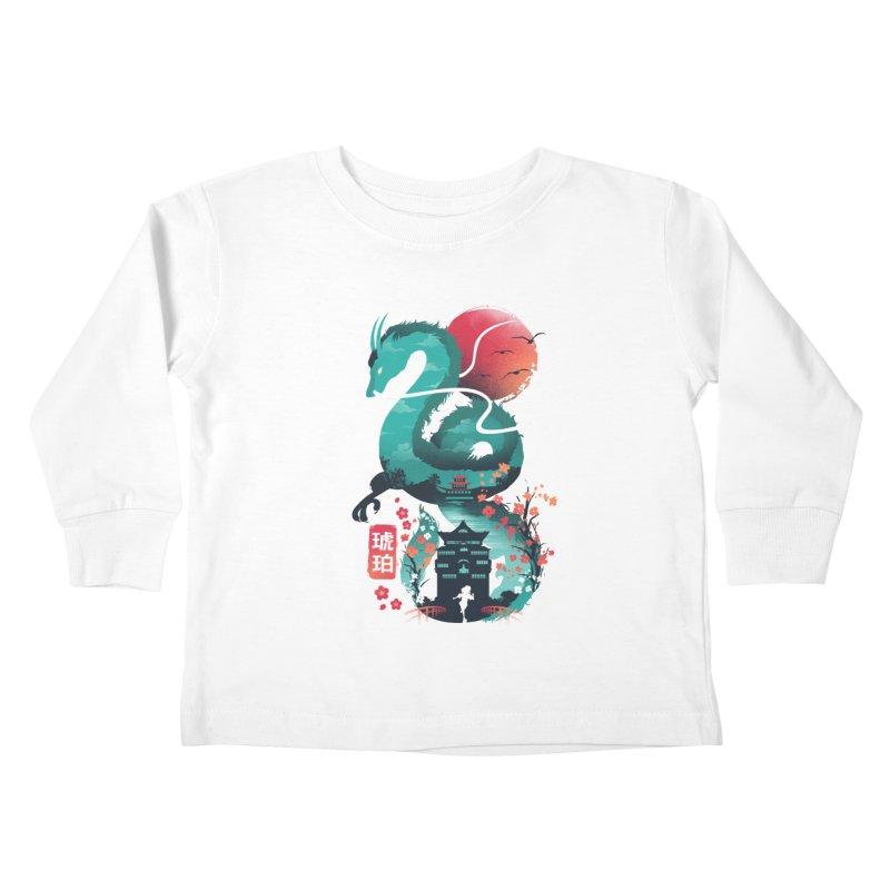 Haku Ukiyoe Kids Toddler Longsleeve T-Shirt by dandingeroz's Artist Shop