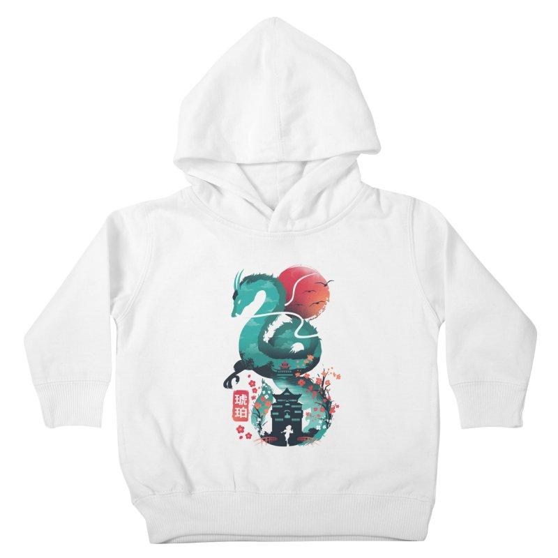 Haku Ukiyoe Kids Toddler Pullover Hoody by dandingeroz's Artist Shop