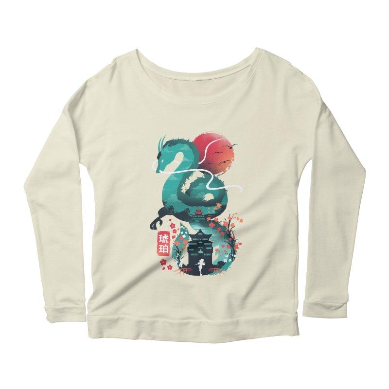 Haku Ukiyoe Women's Scoop Neck Longsleeve T-Shirt by dandingeroz's Artist Shop