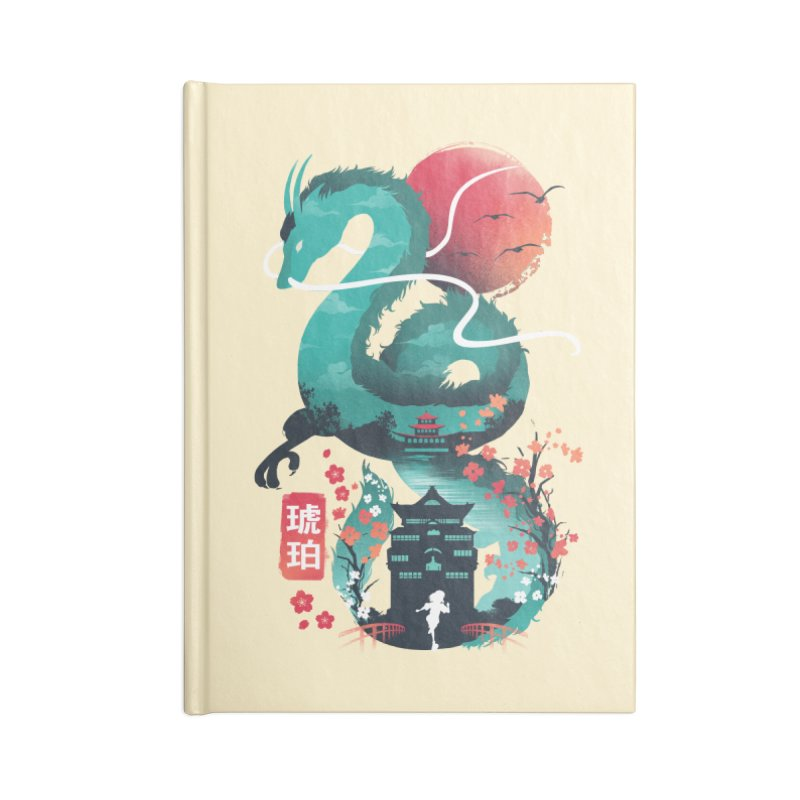 Haku Ukiyoe Accessories Blank Journal Notebook by dandingeroz's Artist Shop