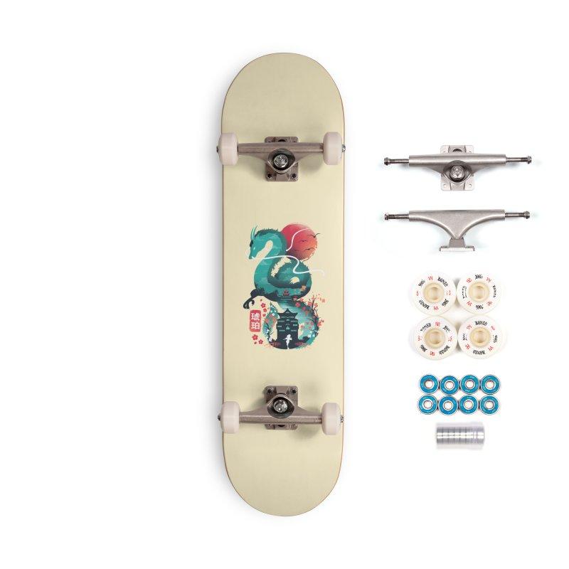 Haku Ukiyoe Accessories Complete - Premium Skateboard by dandingeroz's Artist Shop