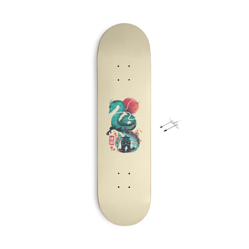Haku Ukiyoe Accessories With Hanging Hardware Skateboard by dandingeroz's Artist Shop