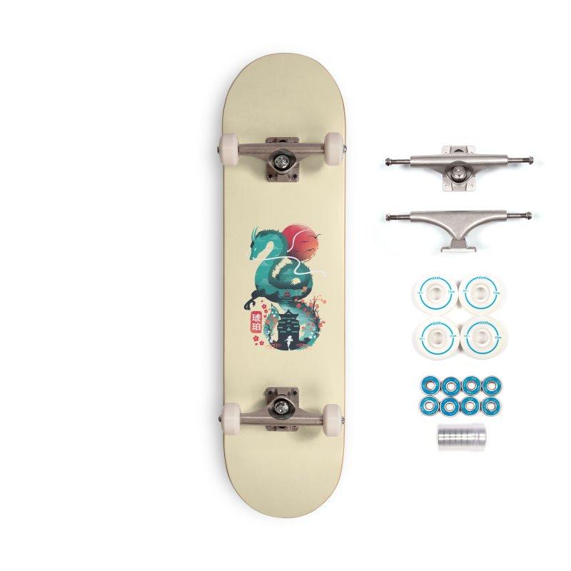 Haku Ukiyoe Accessories Complete - Basic Skateboard by dandingeroz's Artist Shop