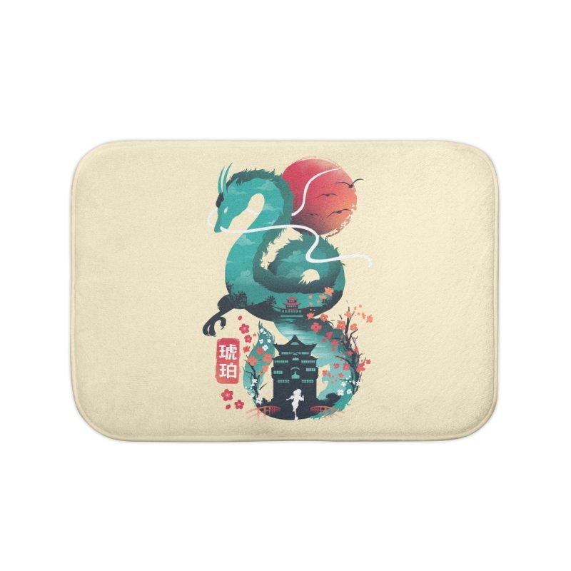 Haku Ukiyoe Home Bath Mat by dandingeroz's Artist Shop
