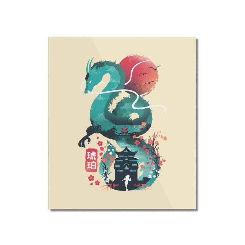 Haku Ukiyoe Home Mounted Acrylic Print by dandingeroz's Artist Shop