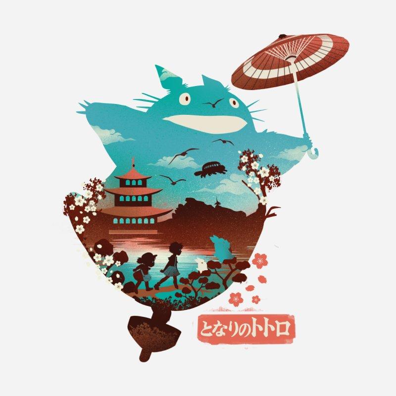 Happy Neighbor Ukiyoe Accessories Sticker by dandingeroz's Artist Shop