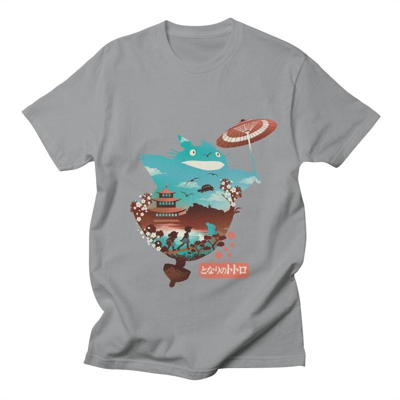 Happy Neighbor Ukiyoe Men's Regular T-Shirt by dandingeroz's Artist Shop