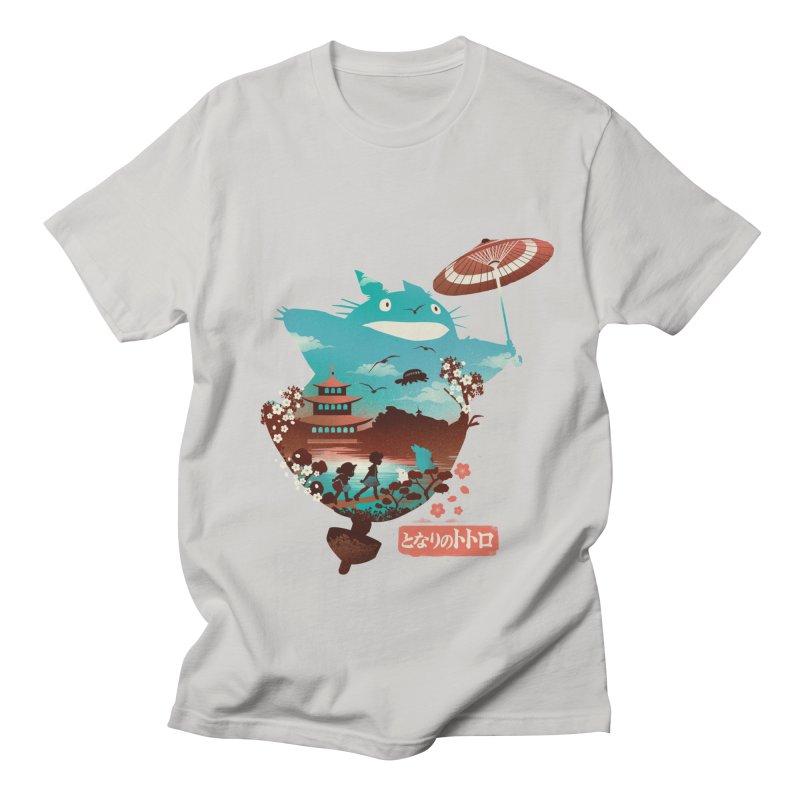 Happy Neighbor Ukiyoe Women's Regular Unisex T-Shirt by dandingeroz's Artist Shop