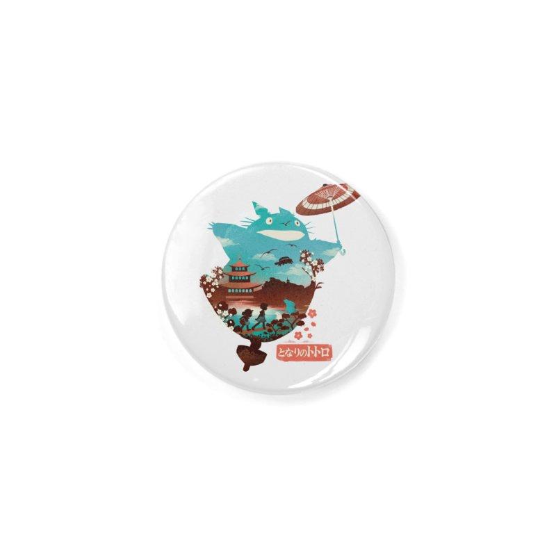 Happy Neighbor Ukiyoe Accessories Button by dandingeroz's Artist Shop