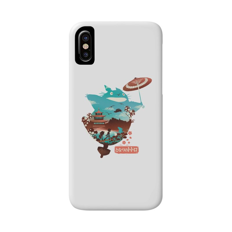 Happy Neighbor Ukiyoe Accessories Phone Case by dandingeroz's Artist Shop