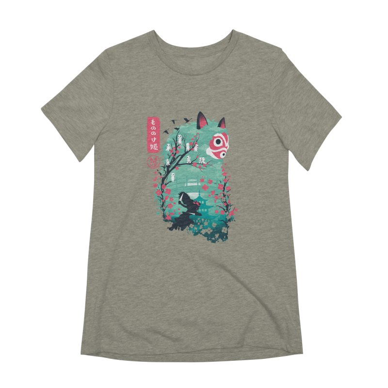 Ukiyo e Princess Women's Extra Soft T-Shirt by dandingeroz's Artist Shop