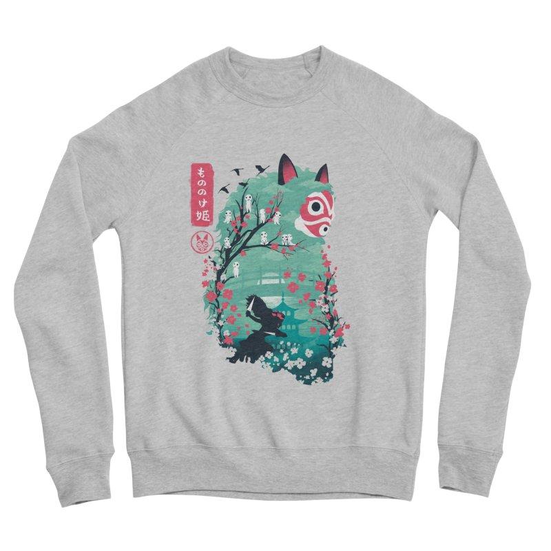 Ukiyo e Princess Women's Sponge Fleece Sweatshirt by dandingeroz's Artist Shop