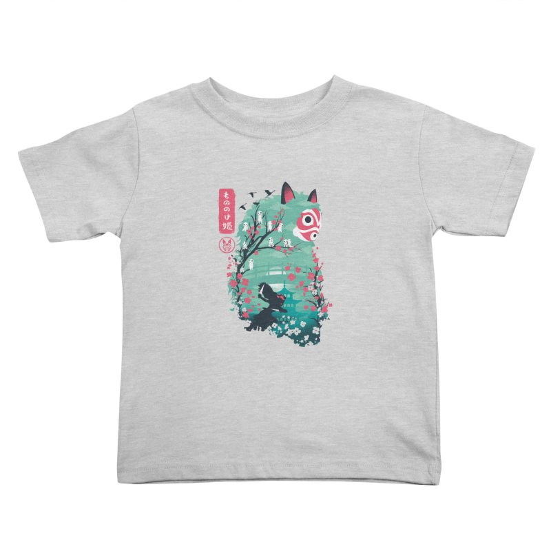 Ukiyo e Princess Kids Toddler T-Shirt by dandingeroz's Artist Shop