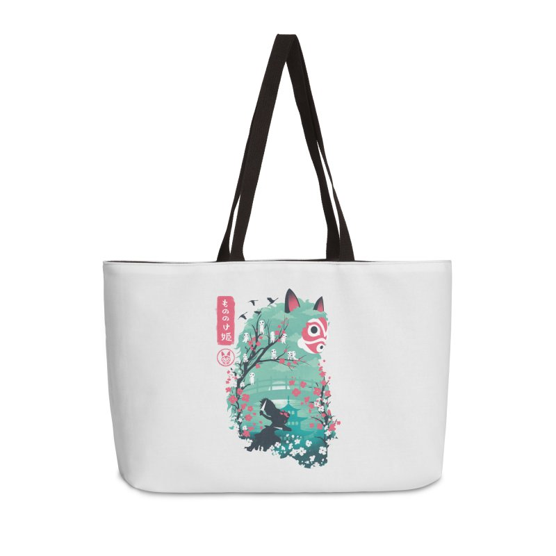Ukiyo e Princess Accessories Weekender Bag Bag by dandingeroz's Artist Shop