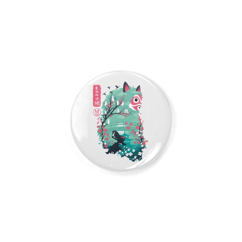 Ukiyo e Princess Accessories Button by dandingeroz's Artist Shop