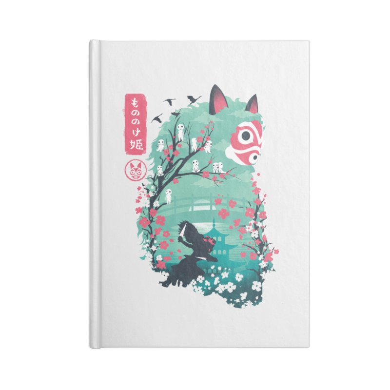 Ukiyo e Princess Accessories Blank Journal Notebook by dandingeroz's Artist Shop