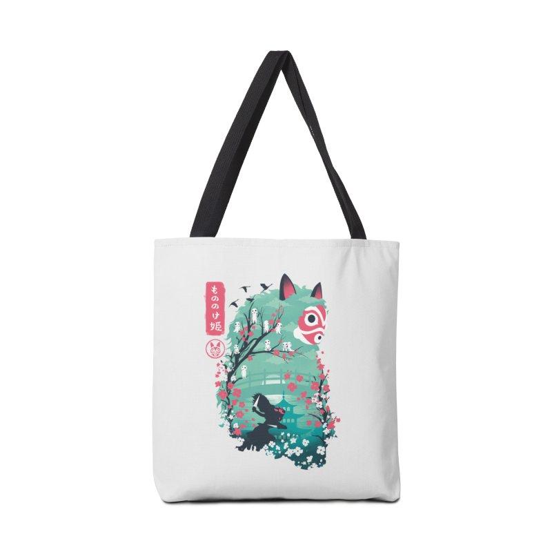 Ukiyo e Princess Accessories Tote Bag Bag by dandingeroz's Artist Shop