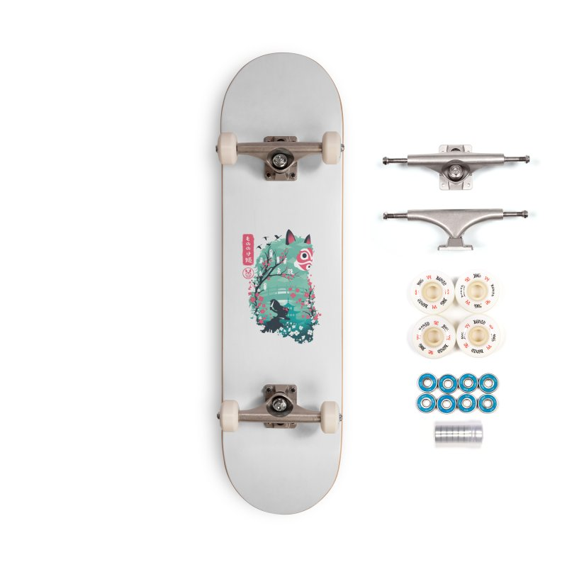 Ukiyo e Princess Accessories Complete - Premium Skateboard by dandingeroz's Artist Shop