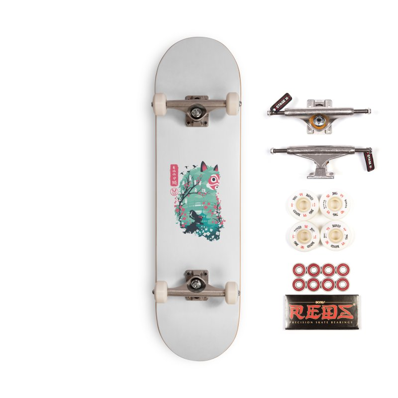 Ukiyo e Princess Accessories Complete - Pro Skateboard by dandingeroz's Artist Shop