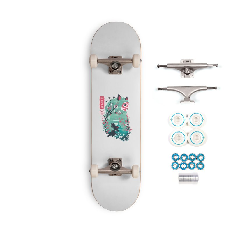 Ukiyo e Princess Accessories Complete - Basic Skateboard by dandingeroz's Artist Shop