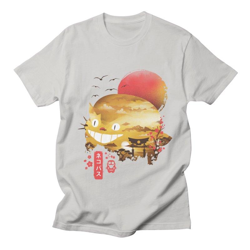 Ukiyo e Catbus Women's Regular Unisex T-Shirt by dandingeroz's Artist Shop