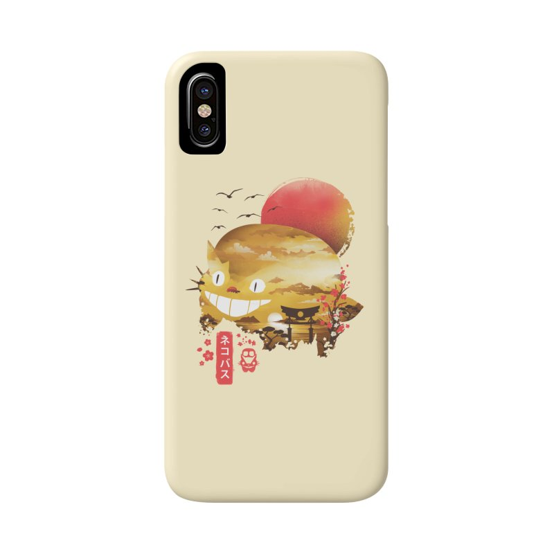 Ukiyo e Catbus Accessories Phone Case by dandingeroz's Artist Shop