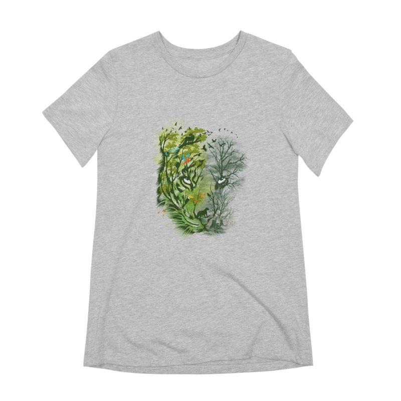 Save the Forest Women's Extra Soft T-Shirt by dandingeroz's Artist Shop