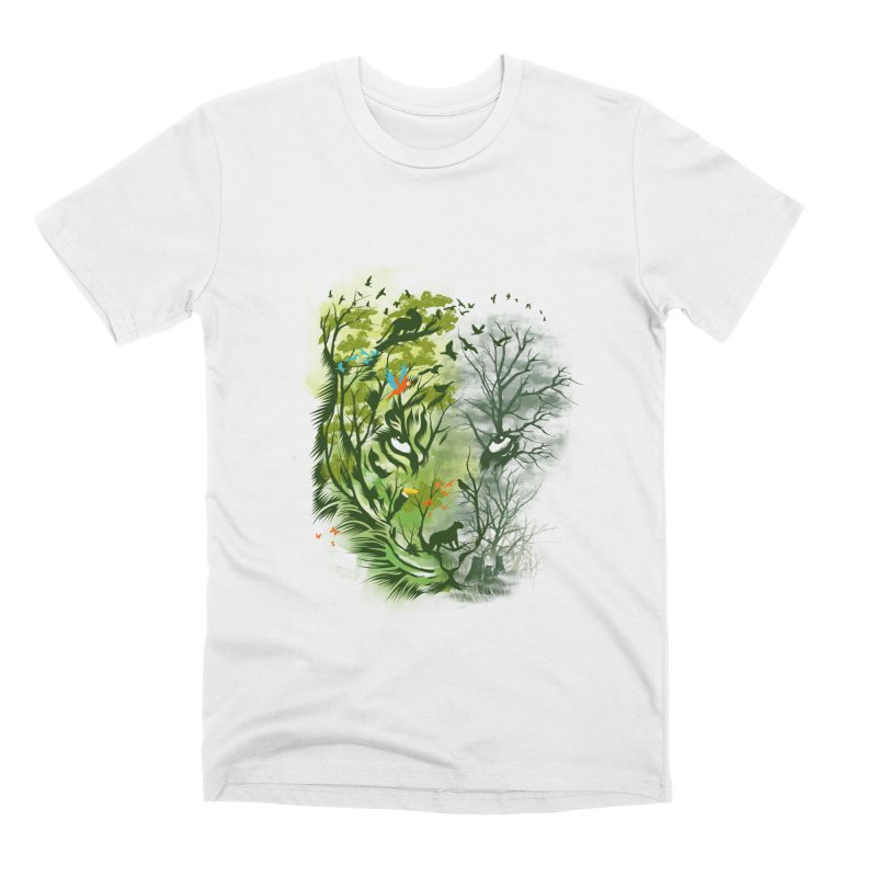 Save the Forest Men's Premium T-Shirt by dandingeroz's Artist Shop