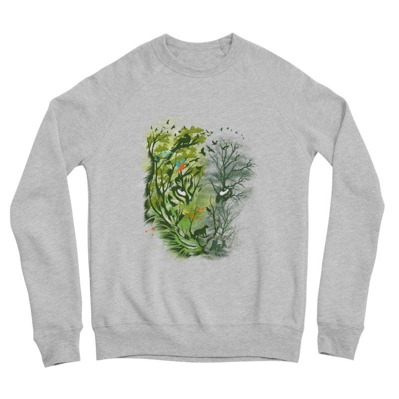 Save the Forest Women's Sponge Fleece Sweatshirt by dandingeroz's Artist Shop