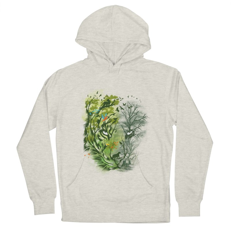 Save the Forest Men's French Terry Pullover Hoody by dandingeroz's Artist Shop